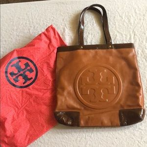 Tory Butch leather tote